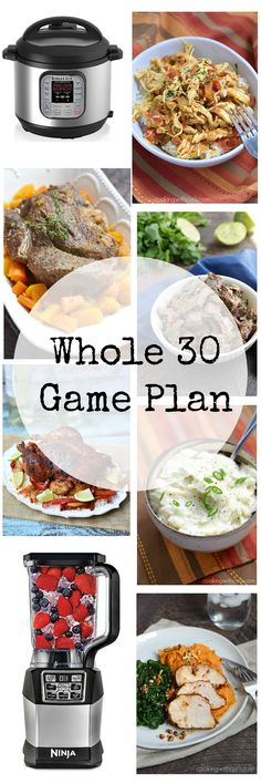 I am starting the New Year with a new outlook and a Whole 30 Game Plan to get my life and health back on track | cookingwithcurls.com