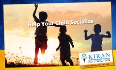 """""""It is important for your child to socialize and interact with kids his/her age as it helps them improve their communication skills. Make them meet and play with your friends' or neighbors' kids regularly. #Effectiveparenting #Interaction #Communication"""""""