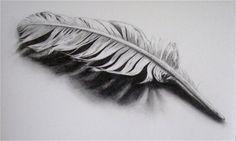 Best Feather tattoo I've seen, it loteraly looks Feather Drawing, Feather Tattoo Design, Feather Art, Feather Tattoos, Feather Sketch, Feather Painting, Pretty Tattoos, Love Tattoos, Mago Tattoo