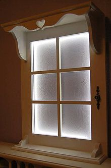 Nábytok - Polica led okno - 6089660_