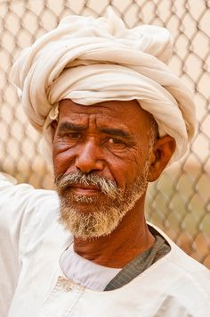 A camel seller at the Camel Market in Omdurman, just outside the Sudanese capital of Khartoum.