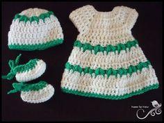Crochet Premie Set Pattern