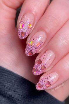 french tip almond nails, french almond nails, almond nails, round french tip nails, trendy french tip nails, almond nails short, french tip almond nails short french tip almond nails long, french tip almond nails with design, french tip almond nails color, french tip almond nails stilettos, summer nails, spring nails, nail shapes, short almond nails, #nailart#naildesigns#acrylicnails#spiringnailfrench#clevelandnails##nailhacks#nailsofinstagram#nailsoftheday#nailpolish#gelnails#gelpolish#nailsha French Nail Art, French Nail Designs, French Tip Nails, Spring Nails, Summer Nails, Short Almond Nails, Soft Nails, Flower Nail Designs, Neon Nails