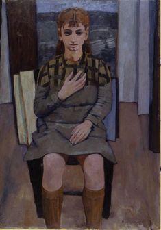 Casorati Felice   1939  tela/ pittura a olio  Misuredipinto:  altezza: 76  cm  larghezza: 54,5 cm