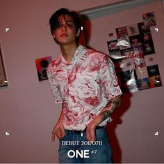 Rapper One - Jung Jaewon Yg Rapper, Kpop Rappers, Yg Entertainment, One Yg, Heavy Metal, Jaewon One, First Rapper, Yg Trainee, Jung Jaewon