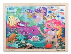Melissa & Doug Sturdy wooden construction Lovely artwork is a wonderful reward for finishing this jigsaw. 48 durable wooden jigsaw pieces fit together smoothly. https://hobbiesandcrafts.boutiquecloset.com/product/melissa-doug/