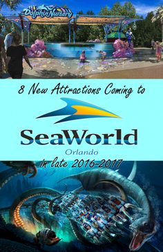 SEAWORLD ORLANDO UNVEILS NEW ATTRACTION LINEUP FOR 2017