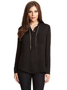 Marciano Taylor Blouse -- Read more  at the image link. (This is an Amazon affiliate link)