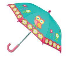 Bonvagon - Çocuk Giyim - Stephen Joseph Kız Çocuk Şemsiyesi - Baykuş