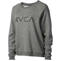 rvca women's sweatshirts | Rvca Big Rvca Crew