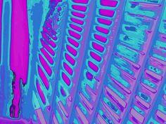 """'Stoffdesign """"pinkviolettblau 150""""' von Rudolf Büttner bei artflakes.com als Poster oder Kunstdruck $18.71"""