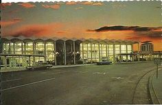 Vintage San Jose, California Municipal Airport - Flew in and out of here often in the 1980's