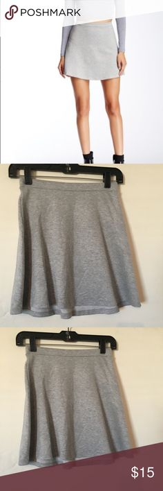 American Apparel Hyperion skirt size small nwt American apparel Hyperion heather gray skirt. Skirt is new with tags size small. Elasticized waist American Apparel Skirts