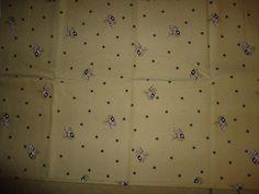 Vintage Scrap Fabric/Material.  Flags, Stars, Past& Presents For Daisy Kingdom #PastPresentsDaisyKingdom