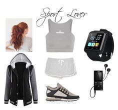 """Sport lover."" by joanne-jkmn on Polyvore featuring Lou & Grey, adidas, MALLET and Sony"