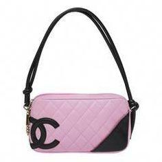 b887238a6886d7 12 Best Chanel pouchette images | Pink black, Shoulder bags, Chanel bags
