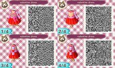 Valentine's Day Animal Crossing QR Codes