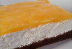 Narancsos-túrós desszert Cheesecake, Cookies, Baking, Sweet, Recipes, Food, Crack Crackers, Candy, Cheesecakes