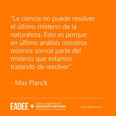 Mark Planck Misterio Quote Frases