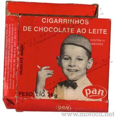 Cigarrinho de Chocolate ao Leite Pan
