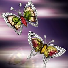 """""""The man who has no imagination has no wings"""" Muhammad Ali #scavia #design #diamonds #white #gold #brilliants #brooches #precious #inlays #polychrome #tourmaline #jewel #jewels #jewelry #jewellery #butterfly #butterflies #cool #colors #madeinitaly #madeinitalywithlove #handmade #handcrafted #handmadewithlove #luxury #elegance #style #imagination #wings"""