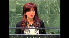 http://www.atvnetworks.com/ SPEECH OF THE PRESIDENT CRISTINA FERNÁNDEZ DURING THE UNITED NATIONS GEN...