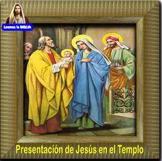 Leamos la BIBLIA: Presentación de Jesús en el Templo