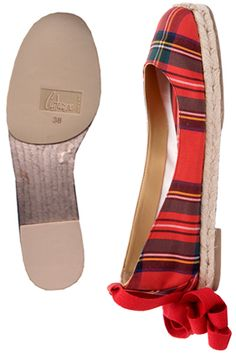 Plaid Flats--must buy these