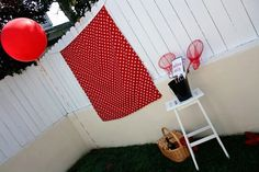 Set up your own photo booth