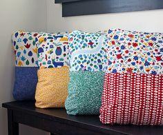 Tutorial | Half n Half Pillow - Cloud9 Fabrics