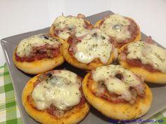 Pizzette mignon per le feste