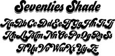 Seventies is another of my funkadelic attemps to fill the existing gap of seventish looking fonts.