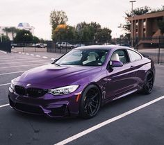 #bmw #m4 #m3 #purple #cool #cars #wrap #luxury #sports #cars #instagram