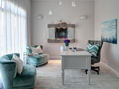 Check out HGTV.com to see the 5 reasons why you should add the color teal to your home design.