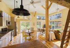 Woodstock house rental - Great Room with Views!
