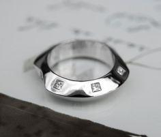 0.65 Cttw G VS Princess Cut Diamonds 12 Stone Wedding Band in 14K White Gold by…