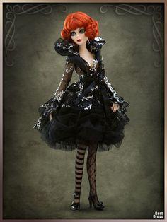 Куклы Evangeline Ghastly » BestDress - cайт о платьях!