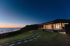 Nothing beats a sunset at Castaways Resort clifftop ocean front wedding venue