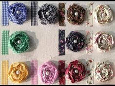 Fabric Tape Cabbage Rose Tutorial