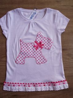Aneta´s Camisetas: Camisetas de perrito. Baby Sewing Projects, Sewing For Kids, School Fashion, Diy Fashion, Sewing Clothes, Diy Clothes, Baby Applique, Trendy Baby Boy Clothes, Recycled Fashion