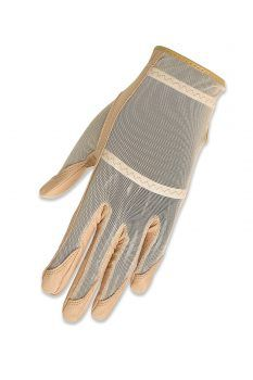 Beige HJ Glove Ladies Solaire Tan Through Full Length Golf Gloves. 12 Colors available! Best Gloves, Golf Player, Mesh Material, Taylormade, Golf Outfit, Ladies Golf, Pattern Fashion, Beige, Lady