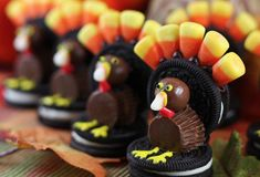 Oreo Candy Turkeys