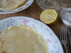 #Eierkuchen mit #Zitronensaft #Rezept #omnomnom #nomnom