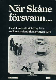 The winter of 1979, in Skåne, South of Sweden.
