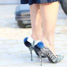 Fur shoes #aperlaiparis #collection