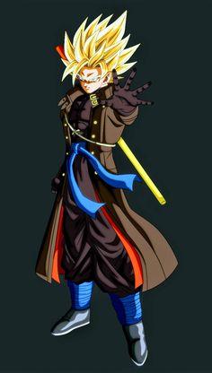 Goku Xeno by on DeviantArt - Goku Xeno Dragon Ball Super - Dragon Ball Gt, Dragon Ball Image, Goku Y Vegeta, Son Goku, Akira, Black Anime Characters, Goku Super, Art Anime, Cute Anime Couples