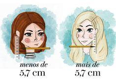 Ilustrações corte cabelo curto