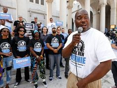 Black Men for Bernie founder Bruce Carter's mission to restore black communities…