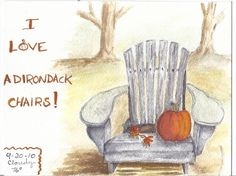 adirondack chair by S_Awdish (Sherry), via Flickr