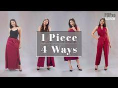 1 Piece, 4 Ways - POPxo Fashion